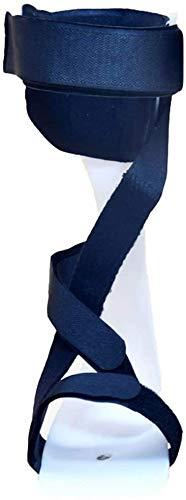 NQCT Fallfuß Orthese Verstellbare Knöchel Corrector-Klammer-Stützschutz-Korrektur Splint Knöchelmobilitätshilfe for Dorsalflexion Bewegung Leicht Einfach an-und Take Off 9.14 (Size : Rightfoot)