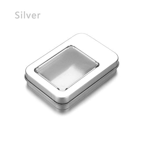 Best Quality - Storage Boxes & Bins - 1pc rectangular metal tin can box coin jewelry candy earrings headphones srage boxes dampproof containers home organization - by Rocco - 1 PCs