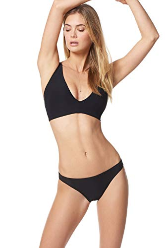 Everything But Water EBW Women's Collection X-Back Bralette Bikini Top Black 30/32 D
