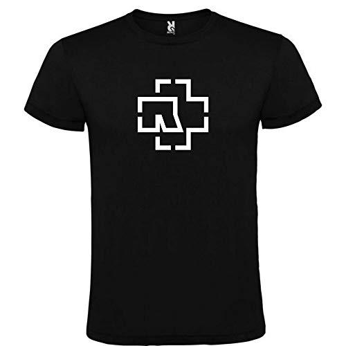 moonlight Rammstein Logo Black t-Shirt Mens s m l XL XXL XXXL 100% Cotton Short Sleeve