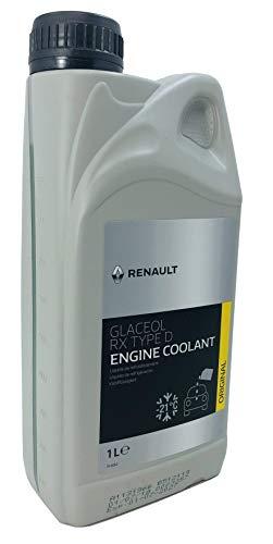 Renault Glaceol RX type D Produit antigel de radiateur 1 l Vert Produit d'origine Renault