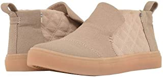 TOMS(トムス) レディース 女性用 シューズ 靴 スニーカー 運動靴 Paxton - Dark Blush Textural Canvas/Quilted Nylon [並行輸入品]