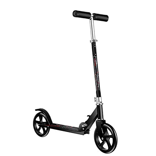 Relaxbx Scooter de Patada Grande para Adultos Patinete Plegable de 2 Ruedas...