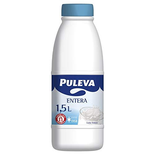 LECHE ENTERA PULEVA PET 1.5 L (6 BOTELLAS)