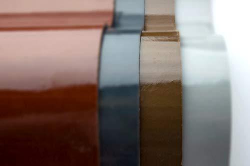 GFK Wellplatten Duraclad® Profil 177/51 P6 4 Farben, bis 8m Länge, Längenzuschnitt möglich | Terrabraun ähnlich RAL 8028 | Länge: 4000mm