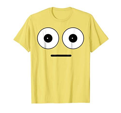 Emoji Halloween Costume Shirt Shocked Face Matching