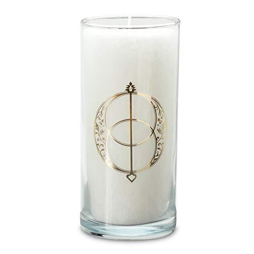 Palm Light Magische Kerze, weiss, Avalon, 30348-AVA