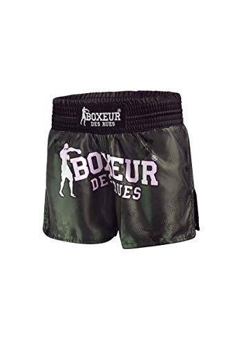 BOXEUR DES RUES - Kick/Thai Shorts with Camou Sublimation Print, Man