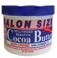 Hollywood Beauty Cocoa Butter Skin Creme with Vitamin E SALON SIZE 708g