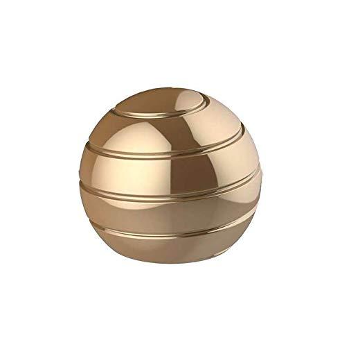 VCOSTORE Jouet de bureau cinétique en métal - Boule Newton - Pendule de stress - Gyroscope avec illusion optique visuelle dynamique - Pour adultes - Soulage le stress (55 mm)