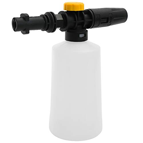 Goolsky Snow Foam Lance 750ML For Karcher K2 K3 K4 K5 K6 K7 Car High Pressure Washers Soap Foam Generator With Adjustable Sprayer Nozzle