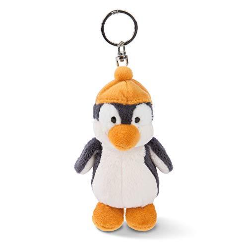 NICI Schlüsselanhänger Plüschtier Pinguin Peppi 10 cm – Pinguin Kuscheltieranhänger mit Schlüsselring für Schlüsselband, Schlüsselbund, Schlüsselhalter & Schlüsselkette – Taschenanhänger – 45720