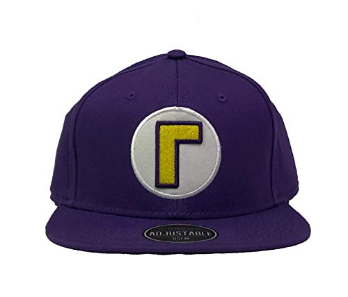 Bioworld Waluigi Super Mario Nintendo Officially Licensed Costume Hat