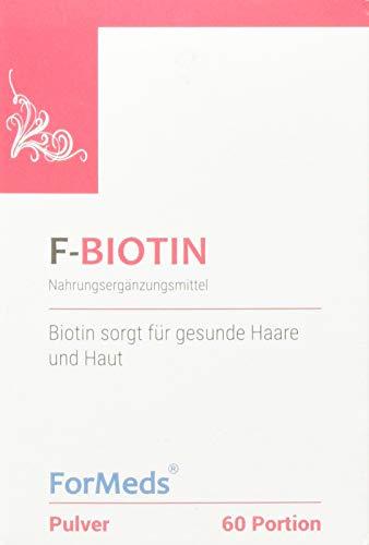 Formeds F-BIOTIN Biotin Pulver - 2500 mcg, 60 Portionen