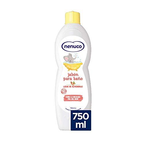 Nenuco Jabón de Baño hidratante para bebé con leche de almendras - 750 ml (3029756)