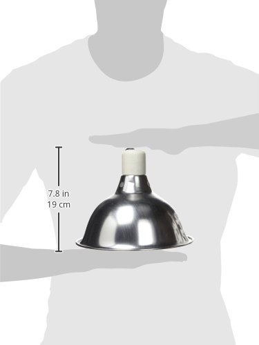 Zilla 11931 8-1/2-Inch Reflector Dome For Up to 150-Watt Bulbs, Silver