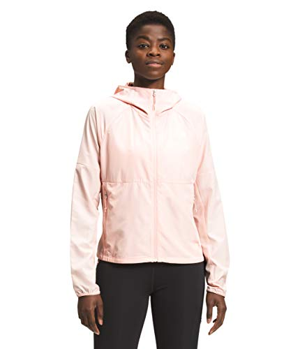 The North Face Women's Flyweight Hoodie, Pearl Blush, 3XL