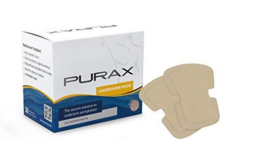 PURAX Pure almohadillas absorbentes Producto – antitranspirante 30 unidades color marrón