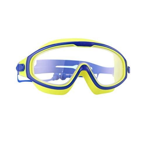 IMIKEYA Gafas de Natación para Niños con Tapón Auditivo Gafas de Natación Antivaho Impermeables Gafas de Natación Profesionales para Niños Niños Color Aleatorio