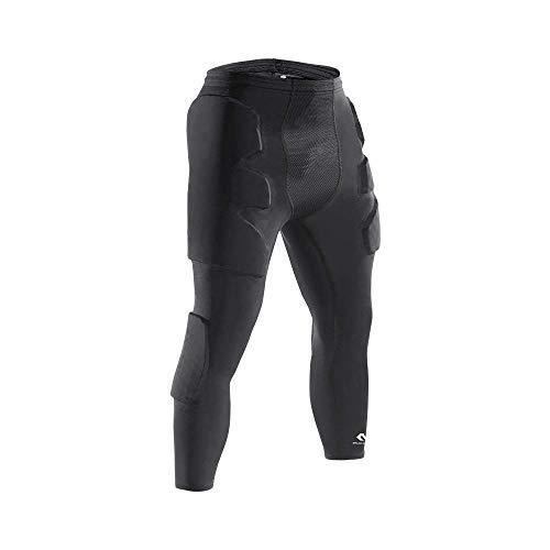 McDavid HEX Torwart 3/4 Hose, Torwart protektion, protektionhose, Torwart gepolstert. Oberschenkelschutz,  Hüfteschutz und Knieschutz