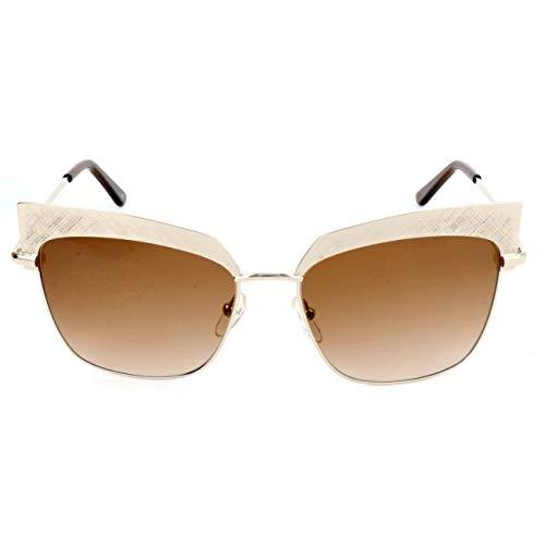 Karl Lagerfeld KL247S Rechteckig Sonnenbrille 56, weiß