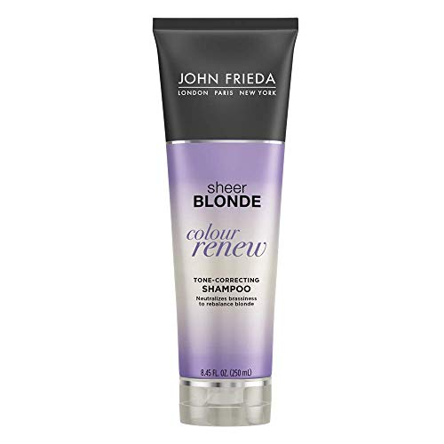 John Frieda Sheer Blonde Colour Renew Purple Shampoo, 8.45 Ounce