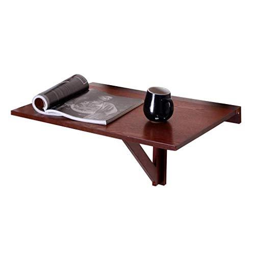 Klaptafel tuintafel eettafel wand schrijftafel wand massief hout eenvoudig schrijftafel sterk en robuust eenvoudig te bedienen (kleur: B) A