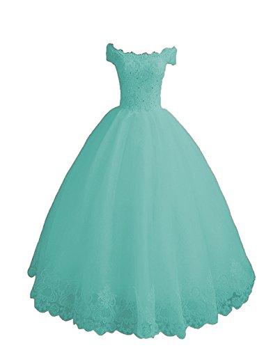 O.D.W. Longitud completa impresionante formal fiesta vestidos de fiesta dulce 15 largos vestidos de quinceañera