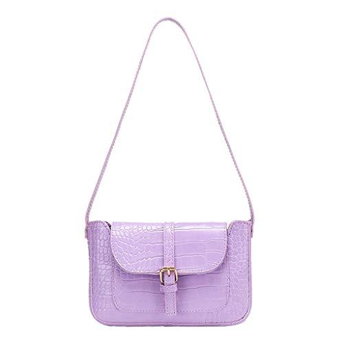 Buy Bargain Hemlock Women Crocodile Pattern Shoulder Bag Retro Classic Phone Handbag Ladies Shoulder...