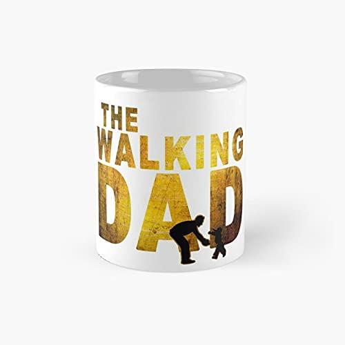 Dad Gifts For Christmas Walking Shirt Funny Shirts Classic Mug - Gift The Office 11 Ounces White Coffee Mugs-nilinkep