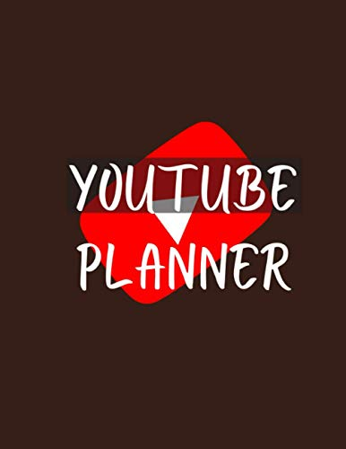 YouTube Planner: Content Creators Planner   Gift For YouTubers