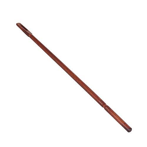 Holzflöten-Reinigungsstab Professionelles Querflöten-Reinigungsset Zubehör Rot