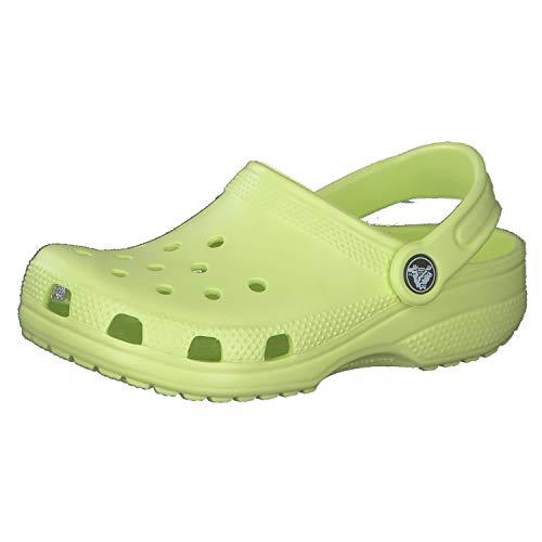 Zuecos De Piel  marca Crocs