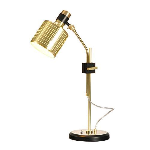FYMDHB886 Rocker Arm LED Lezen Licht, Eenvoudige Metalen Base Kan worden verhoogd en verlaagd om de beugel Lamp, Woonkamer Slaapkamer Studie Bureau nachtkastje Student Slaapzaal Lamp