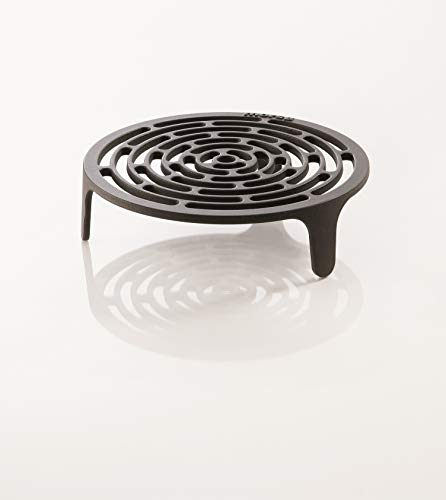 Morsoe Grilleinsatz Tuscan für Kamine und Grill, 34 cm, schwarz