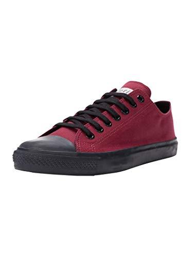 Ethletic Unisex Sneaker Lo Fair Trainer Black Cap True Blood | Jet Black 42 Fair | Vegan | Nachhaltig