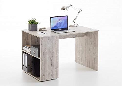 RASANTI Gent Schreibtisch mit Regal von FMD Sandeiche i