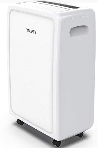 Yaufey 4500 Sq. Ft Home Dehumidifier for Basements and Extra Large Rooms with Drain Hose Outlet and Two Continuous Drainage Modes Efficiently Removes Moisture