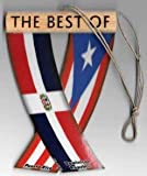UNITY FLAGZ Puerto RICO and Dominican Republic, PR and DR Flag Boricua Dominican Flag, Caribbean Rear View Mirror Hanging CAR Flags Mini Banners for Inside The CAR