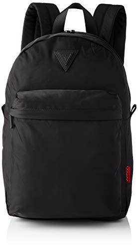 Guess Smart Backpack, Mochila para Hombre, Negro, Talla única