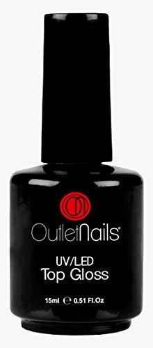 UV Brillo Final 15ml / UV/LED Finalizador Brillo 15ml para uñas de gel/Brillo para uñas acrilicas - Outlet Nails