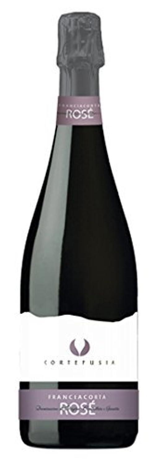 フランチャコルタ 【ギフトボックス付】 メローネ コルテ フジア ロゼ [ イタリア産 超辛口 750ml ] スパークリングワイン