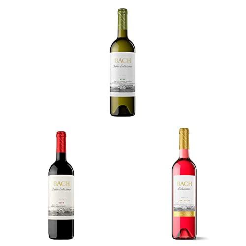 Bach Viña Extrísima Vino Blanco Seco + Vino Tinto + Vino Rosado Semidulce - 3x75cl