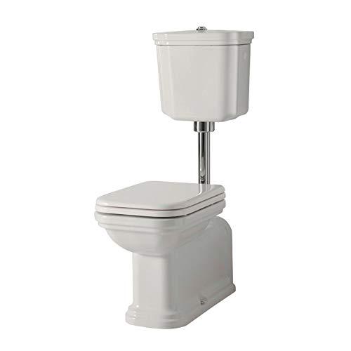 Ondyna Cristina - WC à poser - Pack WC complet à réservoir mi-haut WALDORF sortie horizontale ou verticale - Cristina Ondyna WD4116