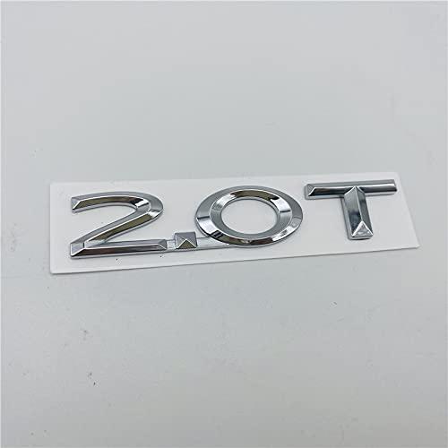 Emblema del capó delantero del coche Para Lincoln MKX MKZ MKC 2.0T 2.3T 2.7T 2.0H letras AWD Transporte trasero Tapa Emblema cola Logotipo de la puerta de la puerta de la puerta del lado Apliques
