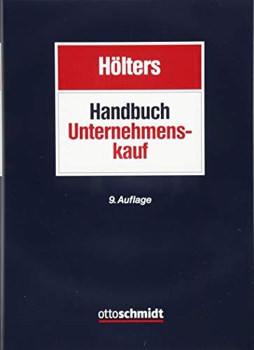Handbuch Unternehmenskauf