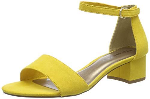 Sandalias amarillas con Pulsera para Mujer