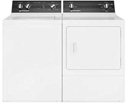 Speed Queen White Electric Laundry Pair with...