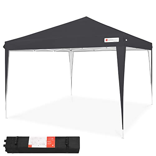 Best Choice Products Outdoor Portable Lightweight Folding Instant Pop Up Gazebo Canopy Shade Tent...