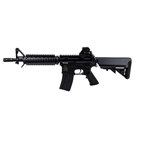 Airsoft Fucile M4 CQBR Negro/plástico ABS de Alta Resistencia/eléctrico (0,5 Puntos) - Semi/Full Automática-Tiro en ráfagas